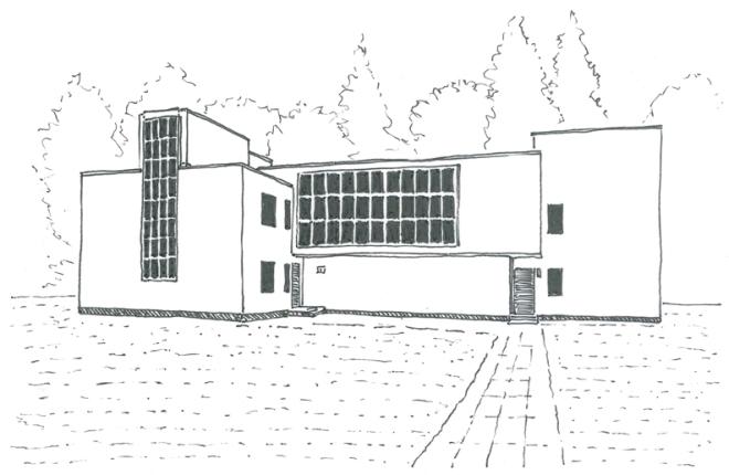 Meisterhaus Muche Schlemmer klein